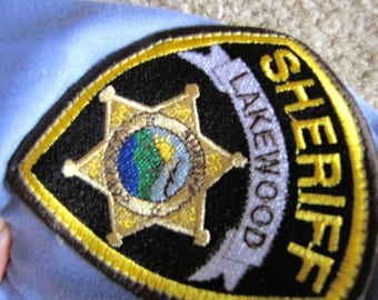SCREAM TV series prop wardrobe Lakewood Sheriff  Uniform Ladies Halloween