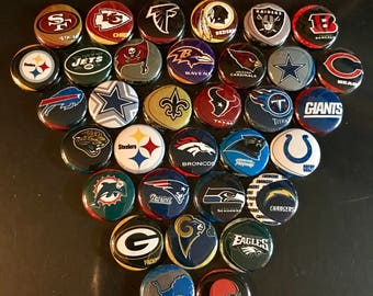 NFL Teams Set of 34