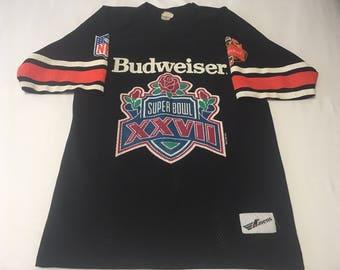 Super Bowl XXVII (27) Budweiser Vintage Jersey 1992