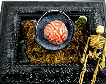 Grave Digger, Bucket O Body Parts Bath Bomb/Brain Soap Combo!