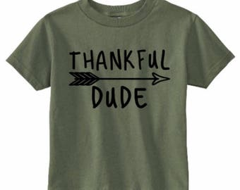 Thankful Dude tee