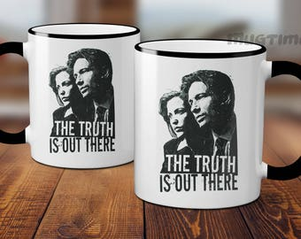 X Files - The truth is out there - Retro - TV Series - Mug Cup - 330ml - Nice and unique gift