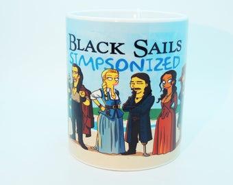 Black Sails Simpsonized - Simpsons - Coffee Tea Mug Cup - ceramic 330ml 11oz