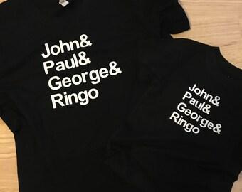 John Lennon George Harrison Paul McCartney Ringo Starr Toddler shirt / RIP / rock n roll / The Beatles / fab four / Abbey Road