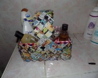 basket for bathroom storage