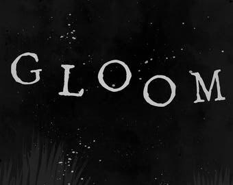 GLOOM Illustrated Book PDF