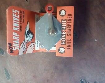 Hone-rite knife sharpener