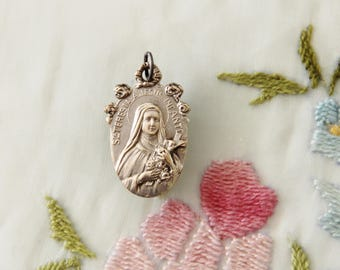 Art Nouveau ST. THERESE of LISIEUX Medal from France