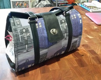 Paperman Doctor Who Hallion Nora Dr's bag