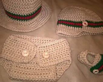 3 piece Diaper Cover Set