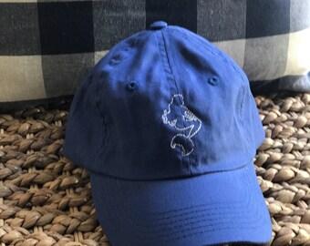 kids youth toddler monogrammed hat mermaid hat