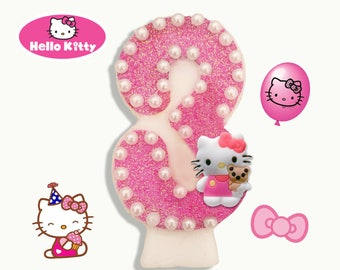 Hello Kitty Candle (FREE DELIVERY on 2nd item)