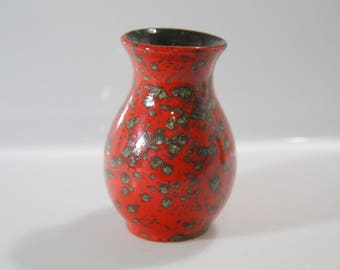 Cute little vase by ES-Keramik West German Pottery, Emons & Söhne, WGP 611/12