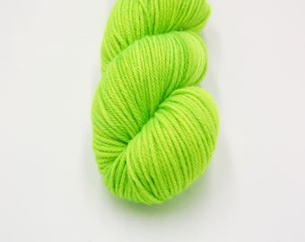Merino Worsted Hand Dyed Yarn - Firefly