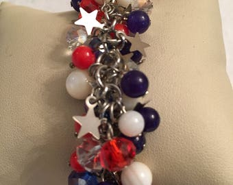 Small Wrist July 4th Bracelet