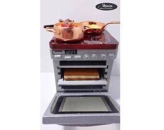 Mini cooker, 1:12 scale
