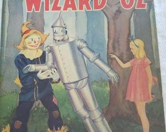 Wizard of Oz Vintage story book
