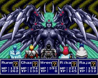 Phantasy Star IV Shadow Box - Profound Darkness - GENESIS - Sega Genesis - 3D Shadow Box Glass Frame - 12x10 - Christmas Gift - RPG Games