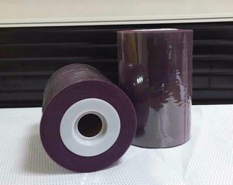 Tulle roll high quality purple Mystique, purple 15 cm x 82 m tutu