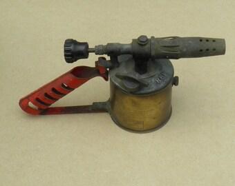 Bladon Blowlamp - Bladon B61 Petrol Blowlamp - Made in Birmingham - Brass Base - Vintage Blowlamp
