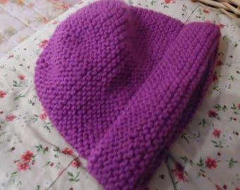 Very soft wool baby Hat