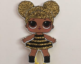 Queen b LOL surprise doll planner clip, LOL doll bookmark, lol Surprise paper clip, Lol tracher's pet planner clip