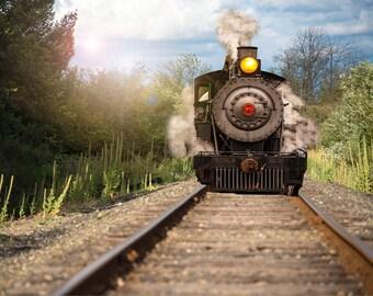 Steam Train Overlay