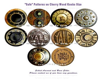 Safe Wood Knobs Yale Designs on Cherry Wood Knobs 1.5 x 1.18 Drawer Pull Drawer Knobs Antique Rustic Knobs