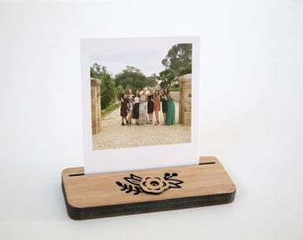 Photo Stands - Mini - Flower - Display your Instagram photos, picture holder, photo frame