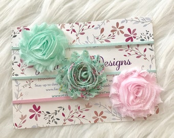 Baby Headbands, Baby Headband Set, Baby Girl Headband, Infant Headband, Newborn Headband, Spring Headbands, Girl Headband, Adult Headband