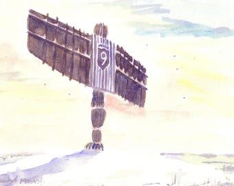 Angel of the North Christmas cards