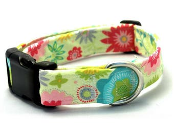 Colorful Floral Collar