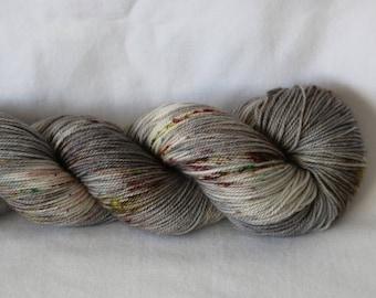 Hand Dyed Yarn - Superwash - Sock Yarn - 80/10/10 Merino/Cashmere/Nylon - Variegated - MCN - 'Trust Fall'
