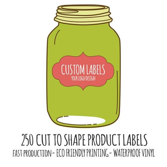 Custom Product Labels Vinyl Die Cut Stickers Cut To - Custom die cut vinyl stickers fast