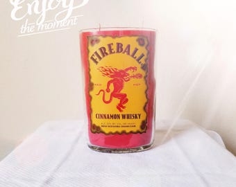 Fireball candle. Great Valentine's day gift!!!