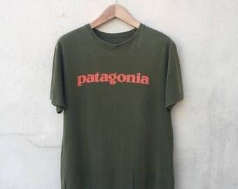 Patagonia Spell Out Logo Tshirt