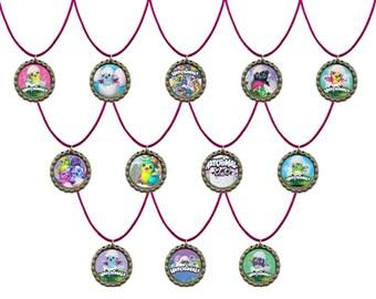 12x Hatchimals Party Favors Necklaces