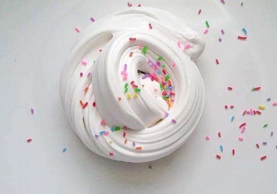 Birthday Cake Slime Butter Slime Cake Scented Butter Slime
