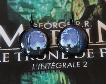 Game of Thrones - white walker earrings
