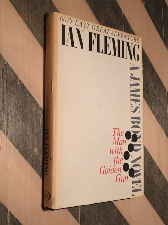 The Man with the Golden Gun by Ian Fleming (1965) hardcover book