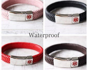 Medical ID Bracelet - Medical Alert Bracelet - ID Bracelet