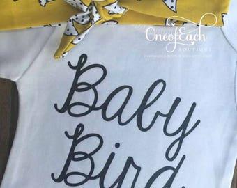 Free Headband! Baby Bird Outfit