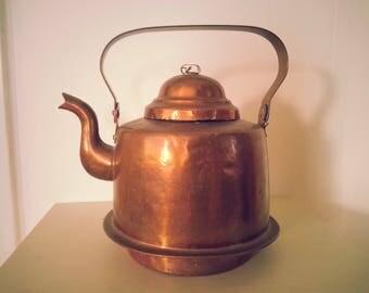 Vintage Swedish Copper Kettle
