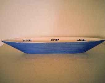 Boat Shaped Swedish Olive Dish