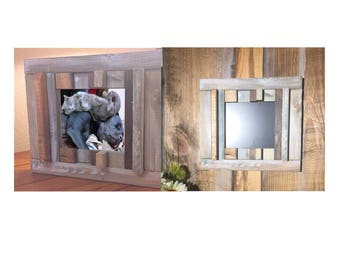 SM Outhouse Picture Frame/Mirror