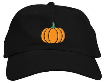 Pumpkin Halloween Dad Hat Baseball Cap Low Profile