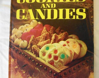 Better Homes And Gardens Cook Book Vintage 1966 Cookies And Candies  BH&G Hardback