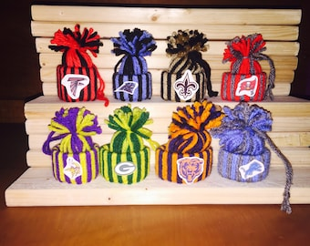 NFL Beanie Christmas Ornaments