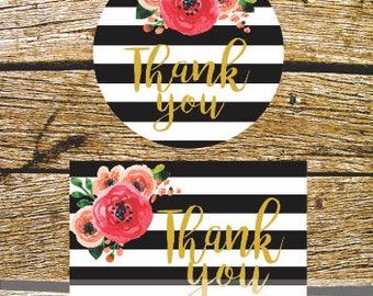 Cards of thanks, wedding, Baby Shower, bachelorette, birthday.