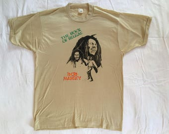 Vintage Bob Marley deadstock Screenstars T shirt